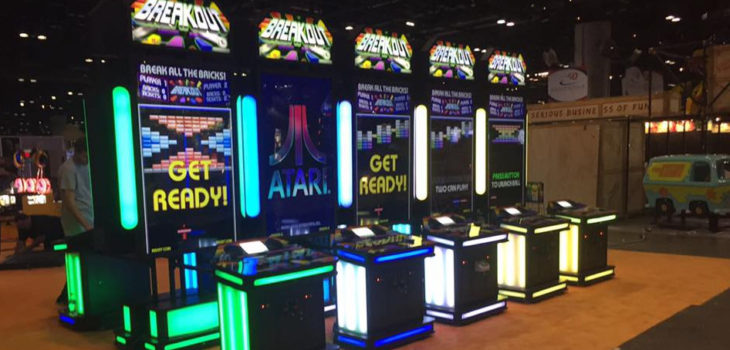 La nueva recreativa arcade de Breakout!