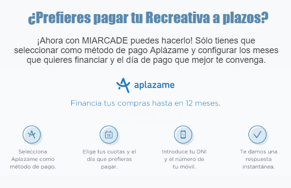 Sistema financiación Aplazame