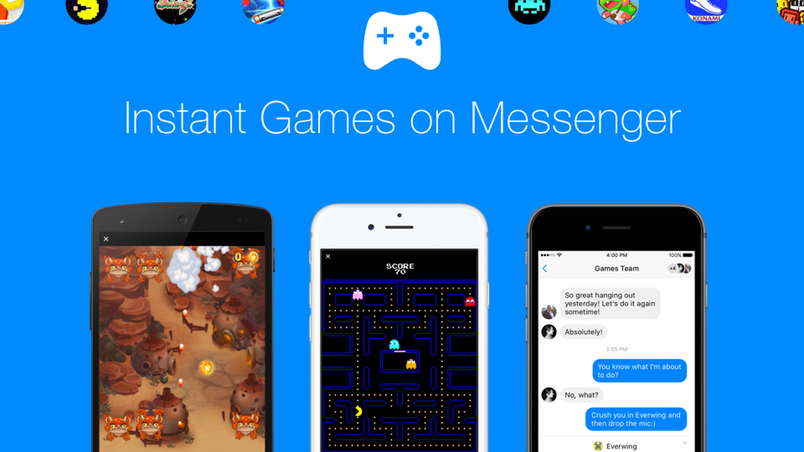 Instant Games Facebook Messenger