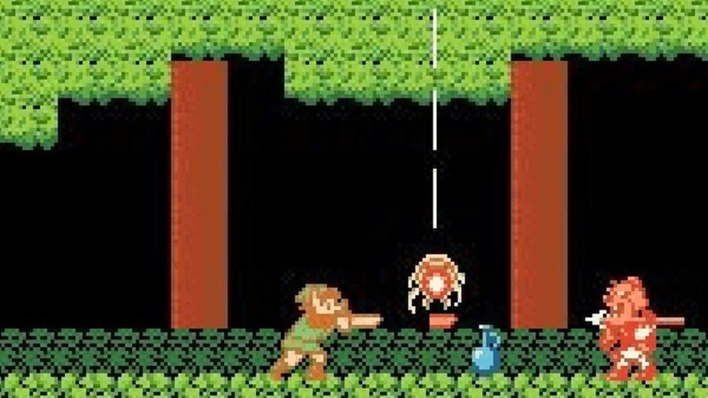 The Legend of Zelda Juego retro