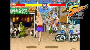 Street Fighter en Con 5 Duros