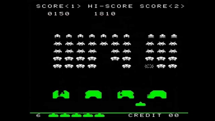 Marcianitos de los 80: Space Invaders