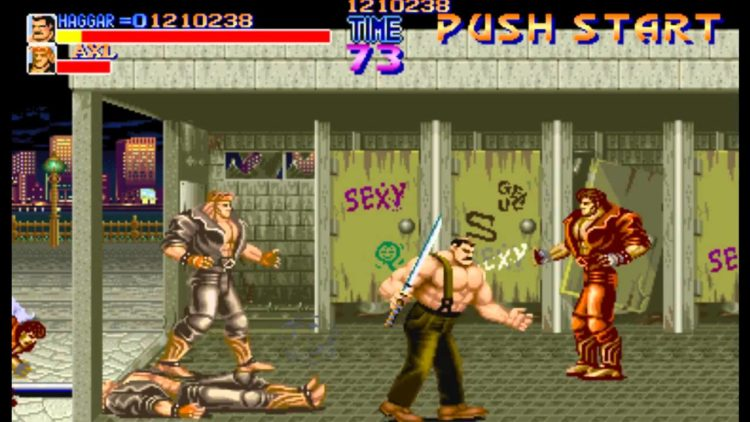 Juego MAME: Final Fight