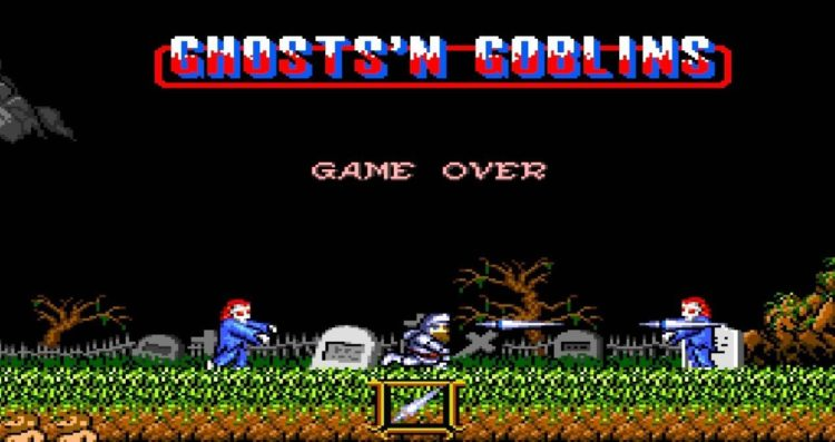 Juego MAME: Ghosts n Goblins