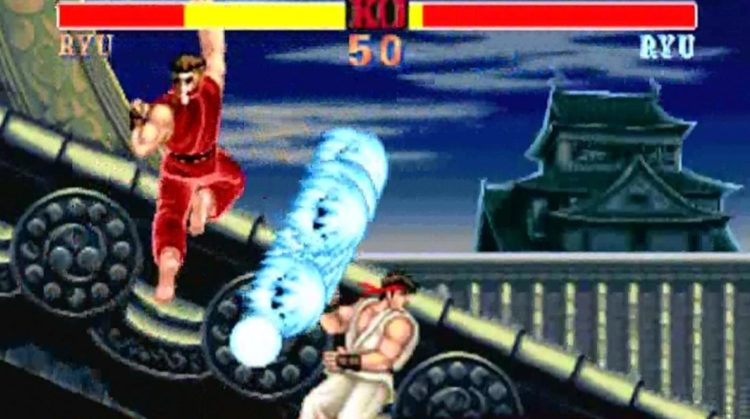 Juego MAME: Street Fighter II