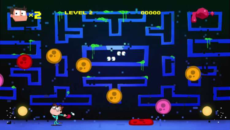 Remember de PacMan de Juanito Arcade Mayhem
