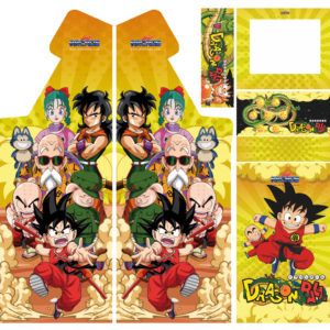 vinilo arcade diseño dragon-ball