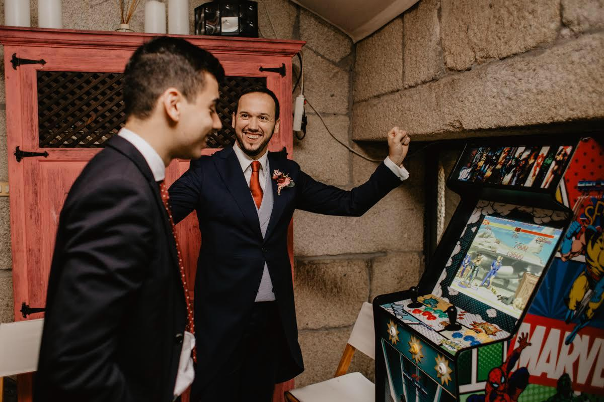 arcade madrid boda