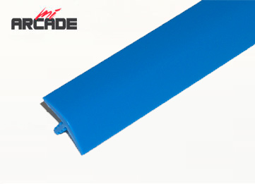 T-molding 16mm para cantos de recreativa en color azul: 1 metro