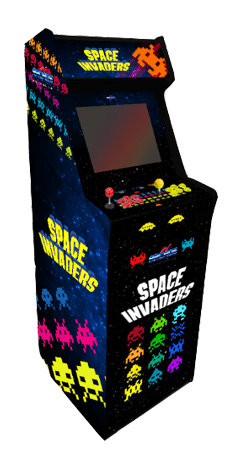 maquina arcade space invaders